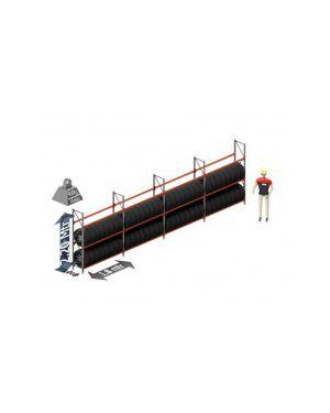 Voordeel set banden: 2200 hoog 500 diep en 7.5 mtr lang 3 niveau's (1.8 mtr./sectie)