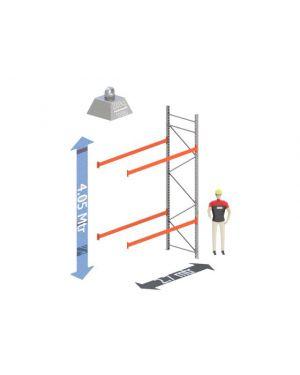 Aanbouw Sectie: Hoogte: 4.05 mtr. Diepte: 1.1 mtr. Breedte sectie : 2.7 mtr. Aantal niveau's: 2 Dragers 100x50 L=2.7mtr. Draagvermogen: 2.000Kg. (per liggerpaar)