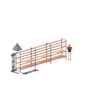 Voordeel set: 2200 hoog 700 diep en 6.6 mtr lang 4 niveau's (2.2 mtr./sectie)