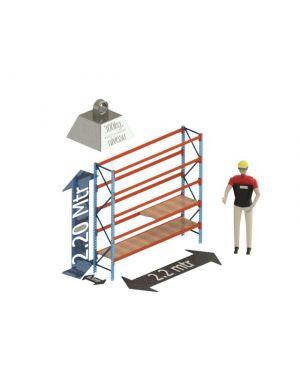 Grootvak Stelling start sectie  2,2 x 0,5 x 2,2 mtr. 5 niveau's 300kg. (per liggerpaar)