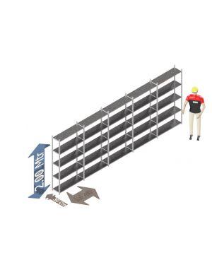 Voordeelset 200 x 500 x 30 Cm (hxbxd) -  5 - niveau's verzinkt