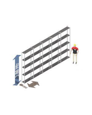 Voordeelset 300 x 500 x 30 Cm (hxbxd) -  5 - niveau's verzinkt