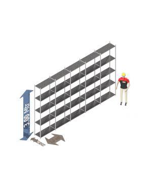 Voordeelset 300 x 500 x 40 Cm (hxbxd) -  5 - niveau's verzinkt