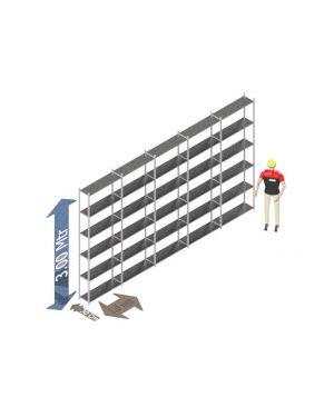 Voordeelset 300 x 500 x 40 Cm (hxbxd) -  6 - niveau's verzinkt