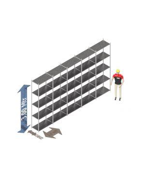 Voordeelset 300 x 500 x 50 Cm (hxbxd) - 5 - niveau's verzinkt