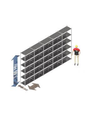 Voordeelset 300 x 500 x 50 Cm (hxbxd) - 6 - niveau's verzinkt